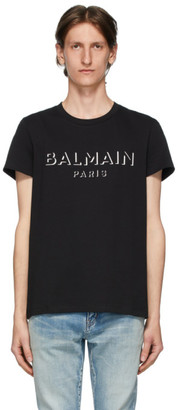 Balmain Black 3D Logo T-Shirt
