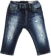 Diesel Destroyed Stretch Cotton Denim Jeans
