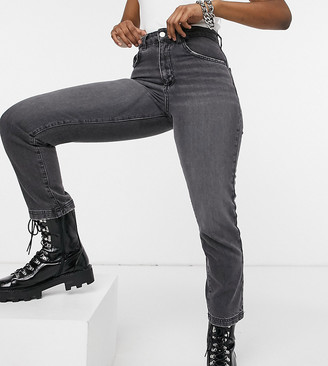 Reclaimed Vintage inspired The '88 straight jeans in gray wash