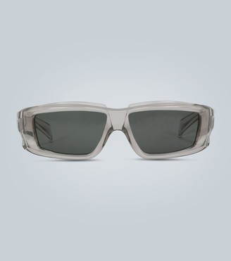 Rick Owens Rectangular transparent sunglasses