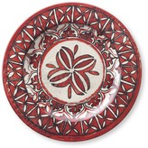 Spanish Tile Melamine Dinner Plates, Set of 4