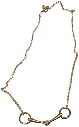 Hermã ̈S HermAs ChaAne d'Ancre Gold Pink gold Necklaces