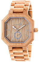 Earth Wood Acadia Unisex Brown Bracelet Watch-Ethew4701