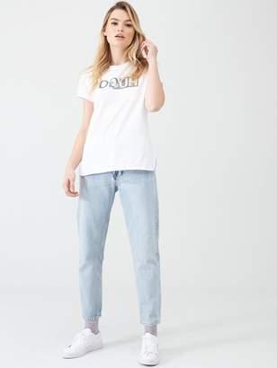 HUGO Logo Slim Fit T-shirt - White