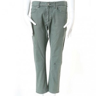 Undercover Green Cotton Jeans