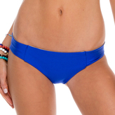 Luli Fama Side Tab Seamless Reversible Full Bottom In Electric blue (L176316)