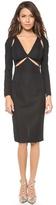 Zimmermann Silk Cotton Slash Dress