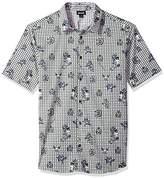 Just Cavalli Men's Short Sleeve Button Down