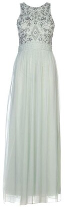 Frock and Frill EL High Neck Maxi Dress