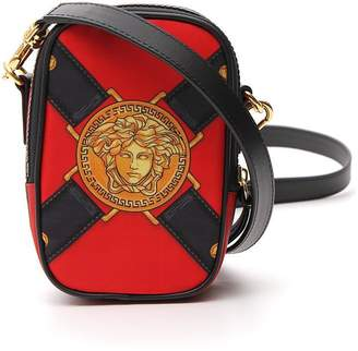 Versace Medusa Print Shoulder Bag