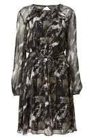Witchery Print Frill Back Dress