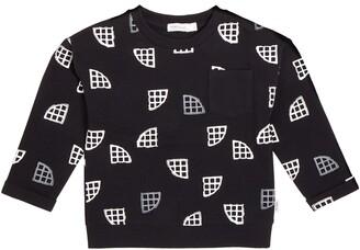 Miles Waffle Print Sweatshirt