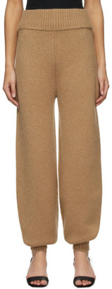 KHAITE Beige Joey Lounge Pants