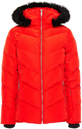 Fusalp Davai Faux Fur-trimmed Quilted Ski Jacket