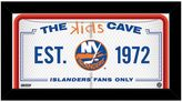 "Steiner Sports New York Islanders 10"" x 20"" Kids Cave Sign"