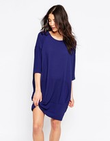 Ichi 3/4 Sleeve Loose Fit Dress