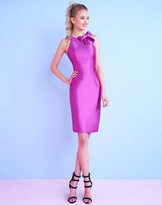 Mac Duggal Homecoming - 30463N Sleeveless Short Dress with Bow Detail