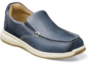 Florsheim Big Boy Great Lakes Moc Toe Slip on Jr. Shoes