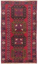 Ecarpetgallery Red Wool Hand-knotted Kazak Rug (3'8 x 6'5)