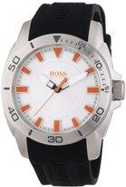 HUGO BOSS Orange Silver Dial Stainless Steel Quartz Men's Watch 1512949