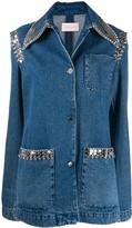 Christopher Kane chain denim jacket