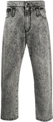 MSGM Bleached Loose-Fit Jeans