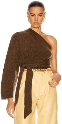 Nanushka Cleto Top in Brown | FWRD