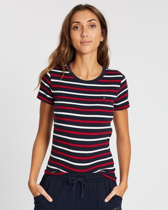 Tommy Hilfiger The Essential Crew Neck Short Sleeve Top
