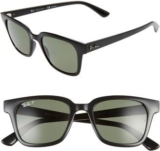 Ray-Ban Wayfarer 51mm Polarized Sunglasses
