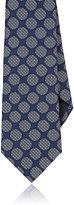 Giorgio Armani Men's Dot-Pattern Necktie-BLUE