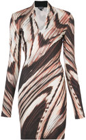 Just Cavalli abstract print dress