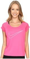 Nike Dry Top Short Sleeve Run Fast