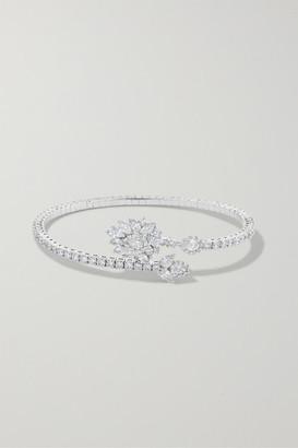YEPREM 18-karat White Gold Diamond Bracelet - one size