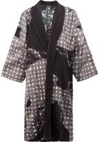 Homme Plissé Issey Miyake - printed coat - men - Polyester - 1