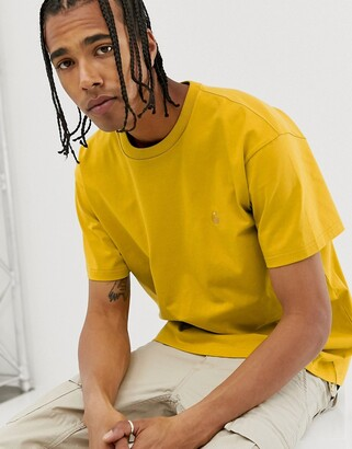 Carhartt Wip WIP Chase t-shirt in colza yellow