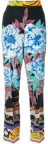 Etro printed straight trousers