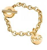 Dolce & Gabbana Golden Stainless Steel Bracelet 20 cm