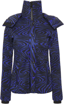 Kenzo Printed Quilted Shell Hooded Jacket