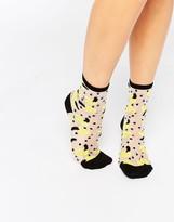 Monki Banana Socks