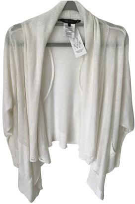 BCBGMAXAZRIA White Linen Knitwear for Women