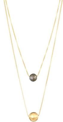 Dean Davidson Manhattan 22K Goldplated & Labradorite Layered Necklace