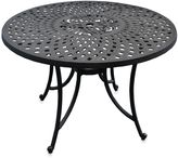 Crosley Sedona 42-Inch Outdoor Dining Table in Black