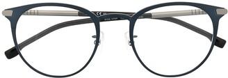 HUGO BOSS Round-Frame Sunglasses