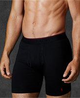 "Polo Ralph Lauren Men's Supreme Comfort 6"" Boxer Briefs 2-Pack"