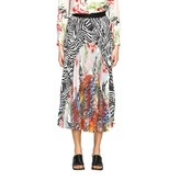 Missoni Pleated Skirt With Patchwork Patterns