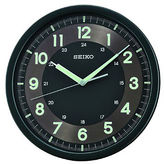 Seiko Wall Clock With Quiet Sweet Second Hand Black Qxa628krh