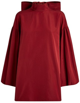Valentino Blouson Sleeve Top