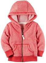 Carter's Baby Boy French Terry Zip-Front Hoodie