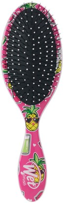 Wet Brush Original Detangler Hair Brush - Happy Hair Smiley Pineapple