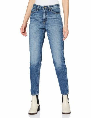 Lee Women's Mom Straight Jeans